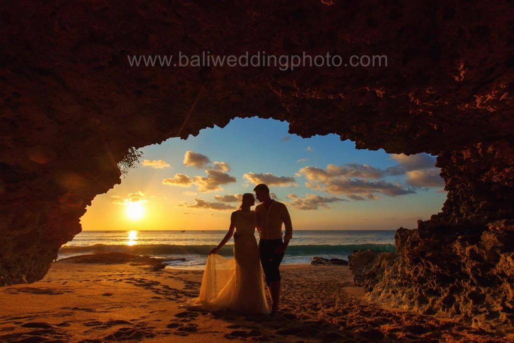 Pre Wedding Sunset Beach