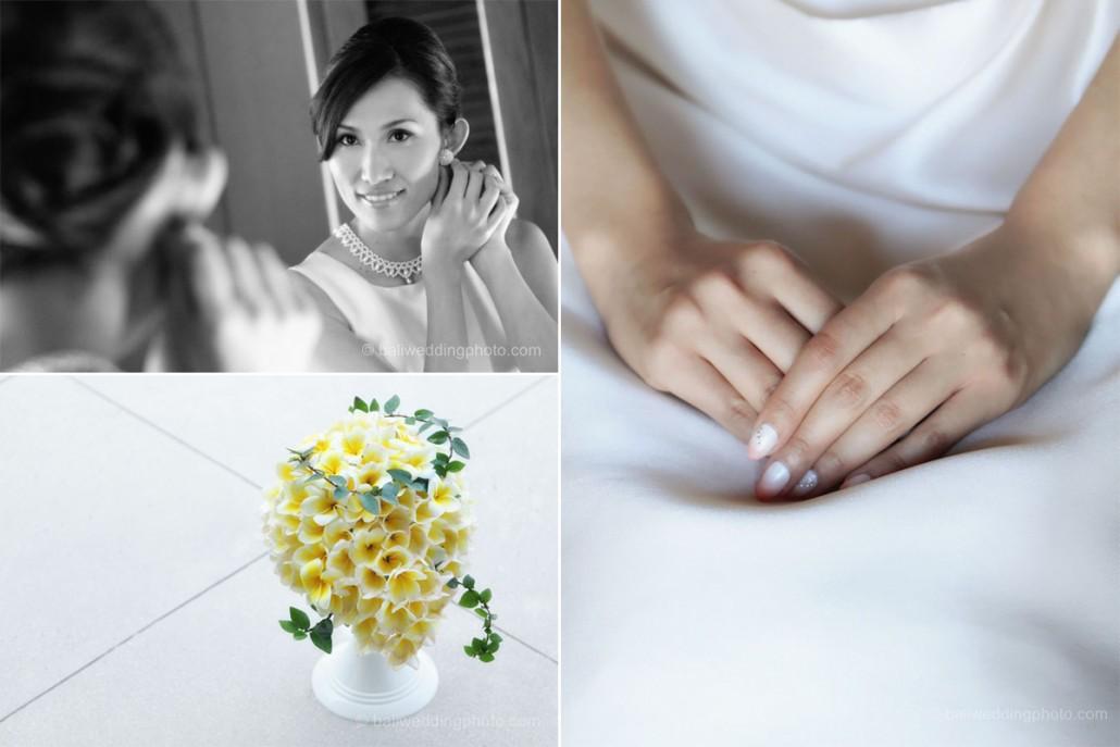 bali wedding photo collage