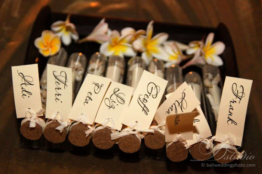 bali wedding favors