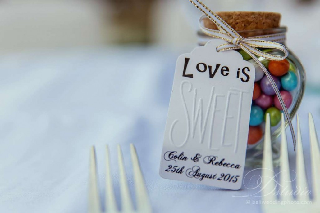 bali wedding favours