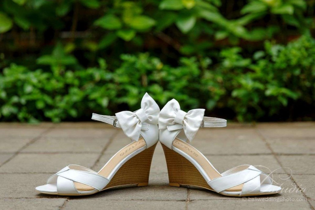 bali wedding shoes