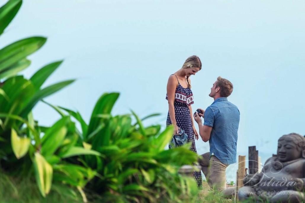 bali marriage proposal