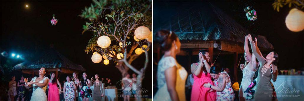 bali wedding bouquet